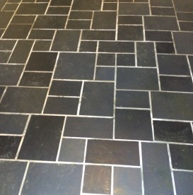 Slate cleaning and sealing