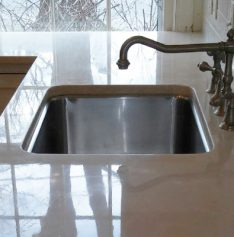 Limestone Countertop Refinished