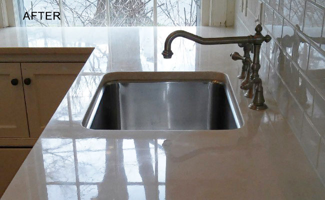 Limestone-Countertop-Polishing