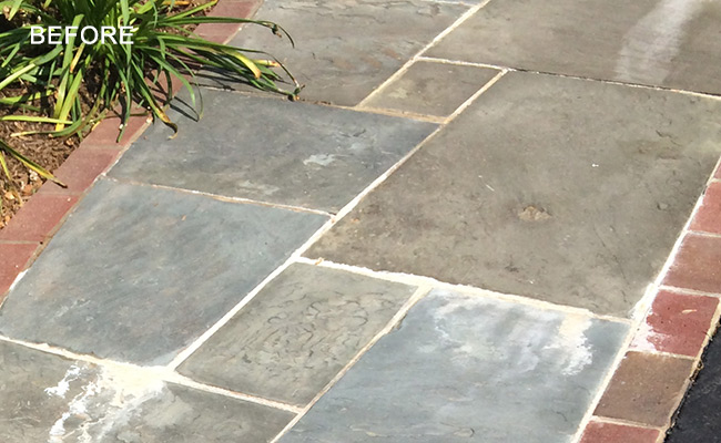 flagstone-before