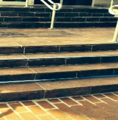 Restoration of Granite Steps at Egyptian Defense Ministry
