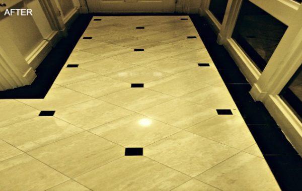 Marble Foyer Restoration in Georgetown