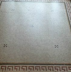 Mosaic Marble Lobby Restored