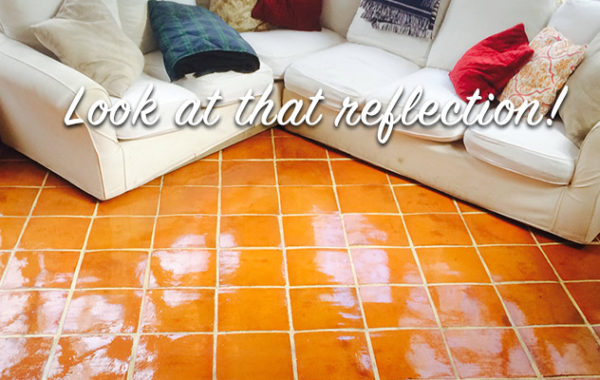 Mexican Tile Refinished